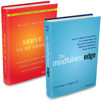 Matt Tenney Leadership Books